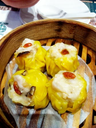 Siew Mai - juicy and the prawns were really crunchy and fresh!