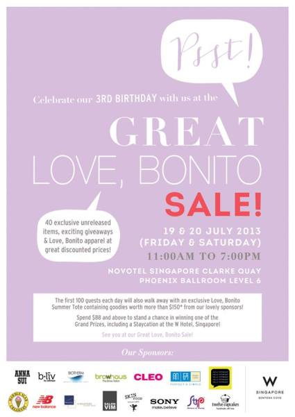 The Great Love, Bonito Sale poster