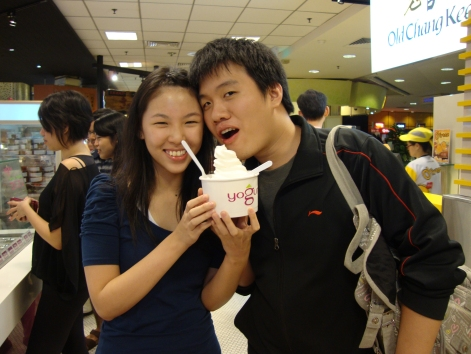 (2010) We love frozen yogurt and we still do. We would always get the largest size possible (unless it's self-weighed).