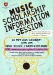 MOE EDM for Music Scholarship Information Session