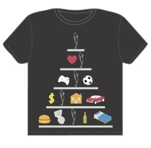 Threadless: Men's Hierarchy of Needs (2010)