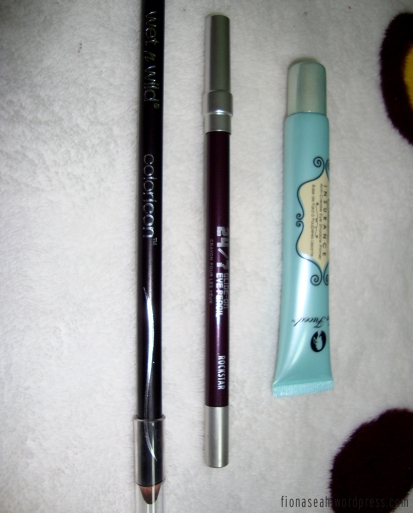 Some eyeliners and a primer