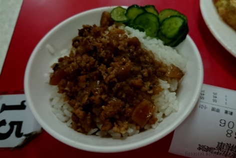 Braised pork with rice! Not bad :)