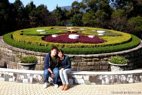 Flower clock and us!