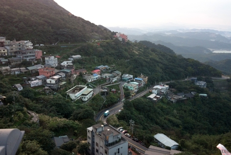 View from the Jiufen's dead end