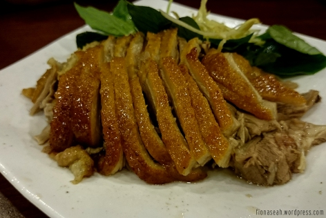 Goose meat without flash