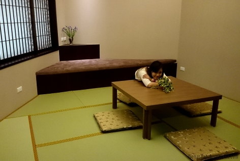 Japanese style dining area?