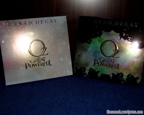 Urban Decay Oz The Great & Powerful Palettes (Front View)