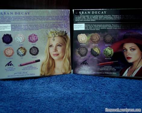 Urban Decay Oz The Great & Powerful Palettes (Back View)
