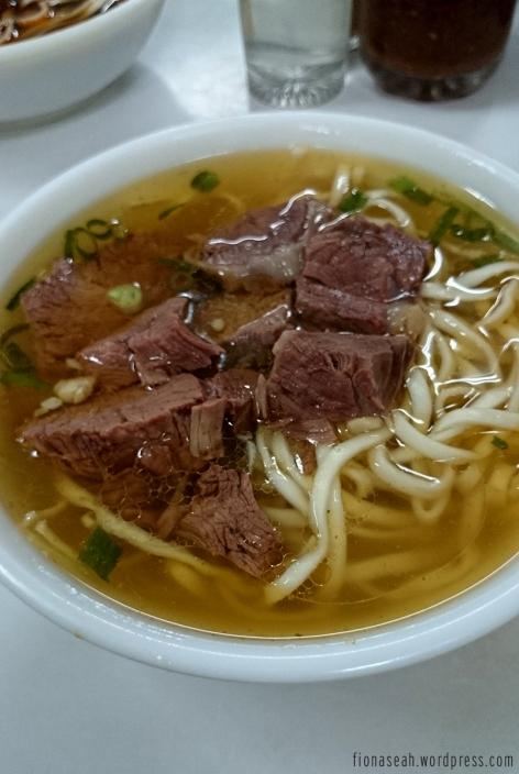 And my original beef noodle!