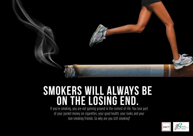 For Health Promotion Board's Anti-Smoking campaign
