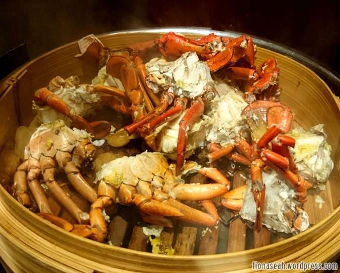 Steamed Crab with Ginger and Vinegar