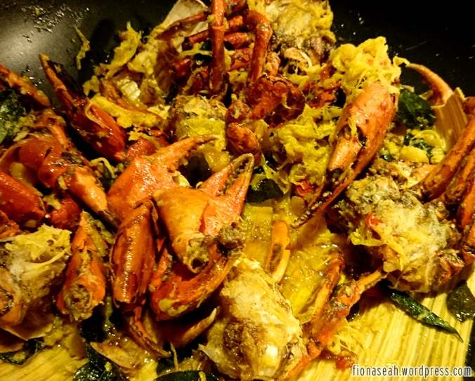 One of the more popular crabs - Salted Egg Crab. I, too, loved this to bits but it always ran out so fast.