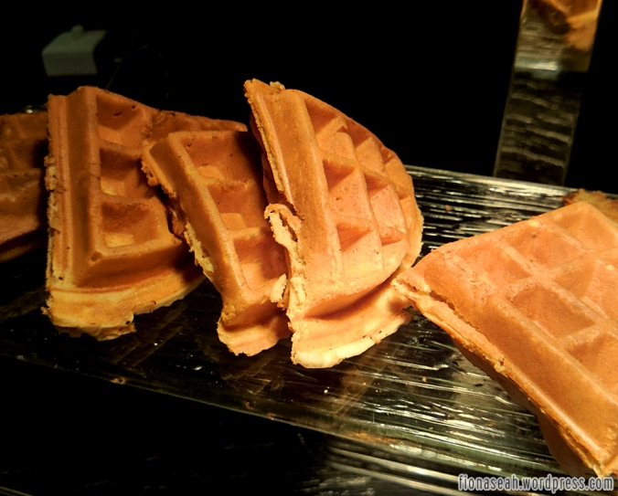 Waffles to go with your ice cream