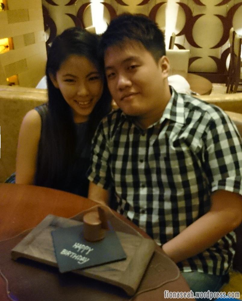Boyfriend's Birthday Dinner @ SKIRT (W Hotel)