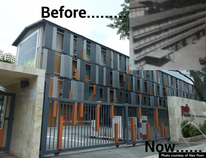 Bukit Ho Swee Secondary - before and now