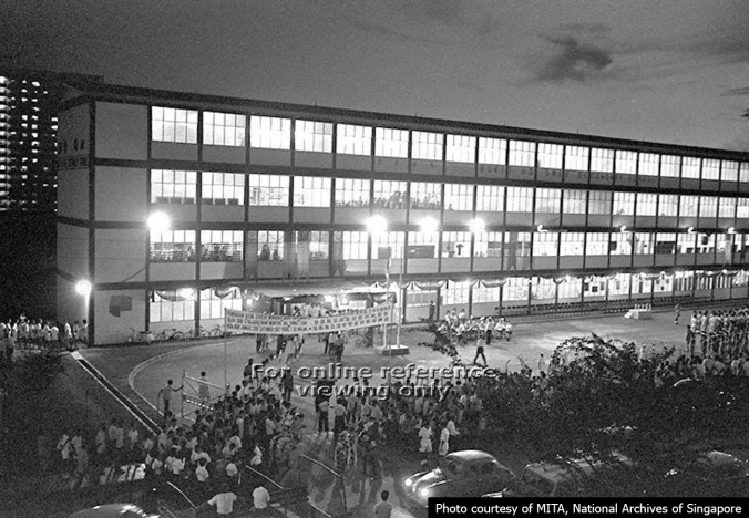 Bukit Ho Swee Secondary opening in 1967