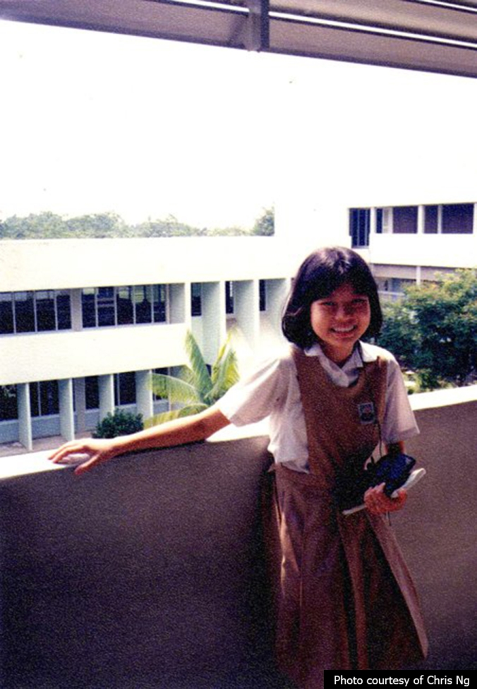 A Clementi North Primary student