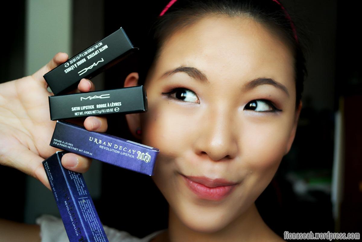 FAVOURITES: 10 Dark Lipsticks   fionaseah.com