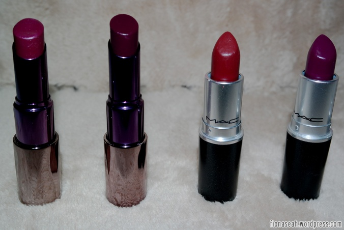 First 4: (from left) Venom, Shame, Diva, Rebel