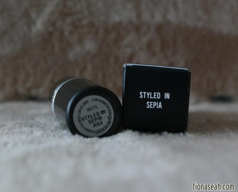 Review Mac The Matte Lip Lipsticks Fashion Revival