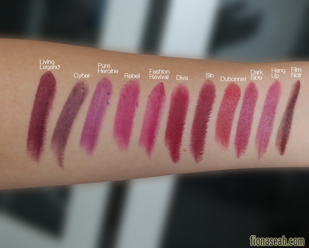 Top REVIEW: MAC The Matte Lip Lipsticks – Fashion Revival, Pander Me  ST09