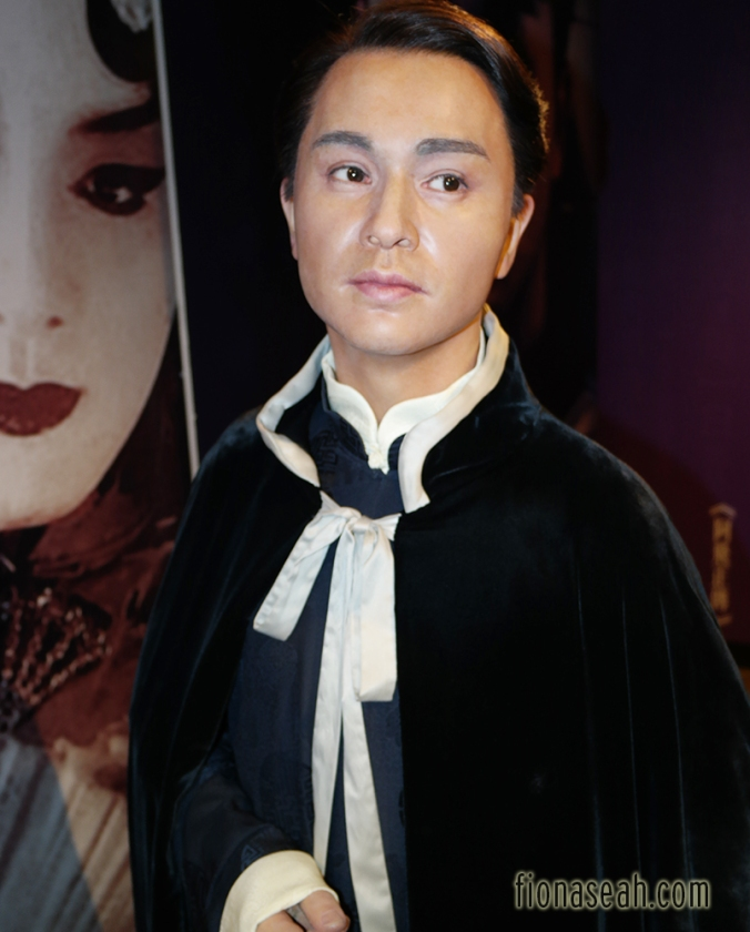 The late Leslie Cheung, considered as one of the founding fathers of Cantopop. I remember how the news of his death shocked the world in 2003 than it got very extensive media coverage