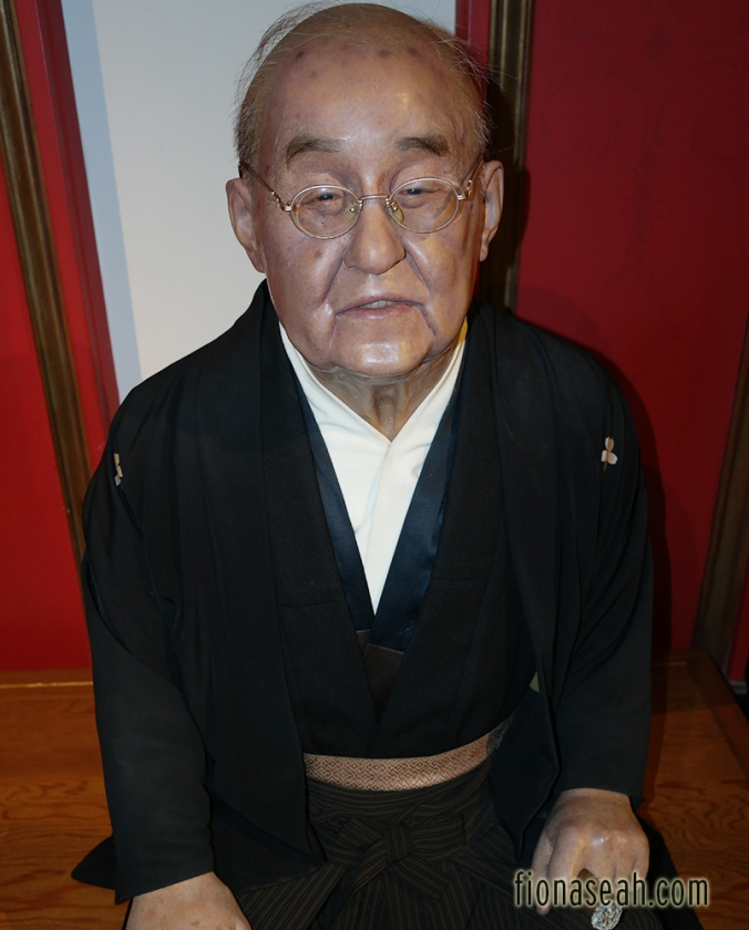 Japan's post-war Prime Minister Shigeru Yoshida