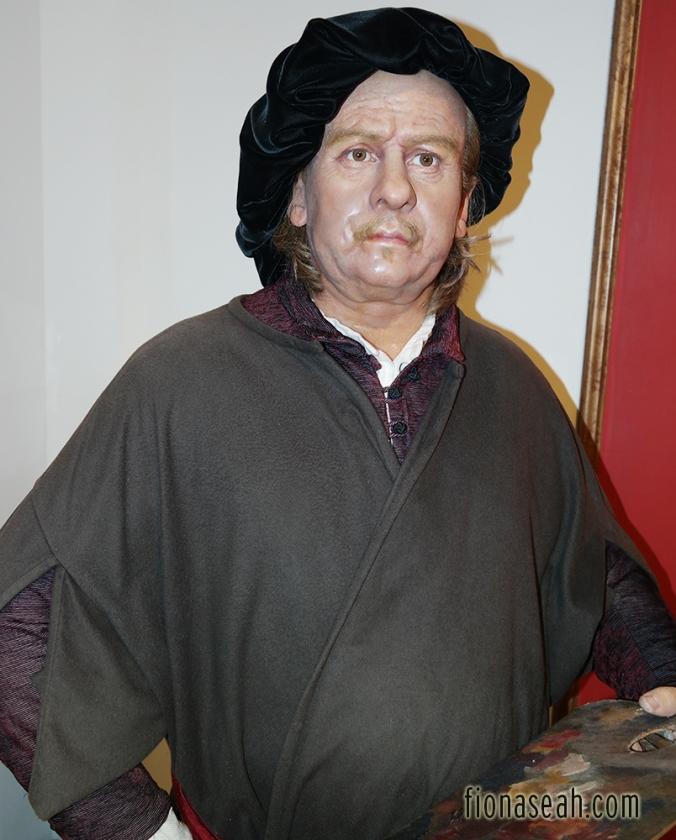 Dutch painter Rembrandt  van Rijn