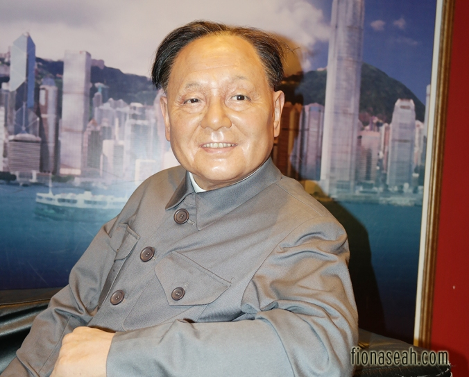 Deng Xiaoping, leader of China from 1978 until his retirement in 1992