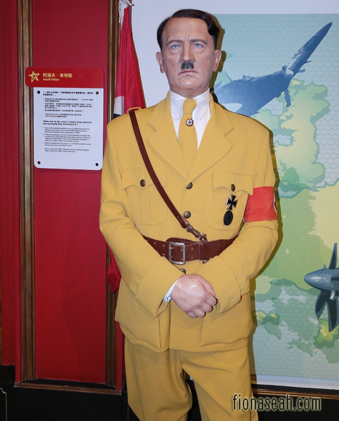 Leader of the Nazi party, Adolf Hitler