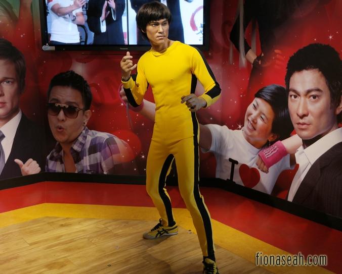 Bruce Lee as their mascot