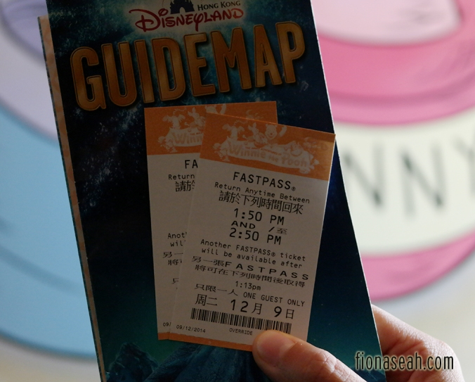 Our FastPass tickets :)