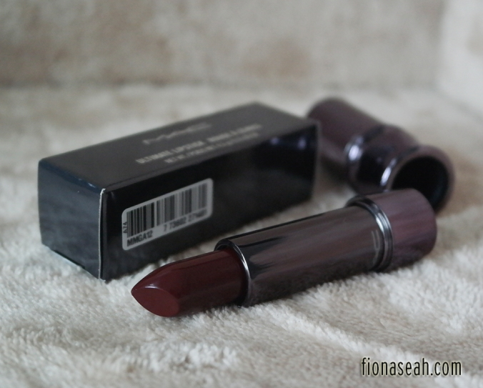 The Scene is a deep berry with Luxe finish (US$23)