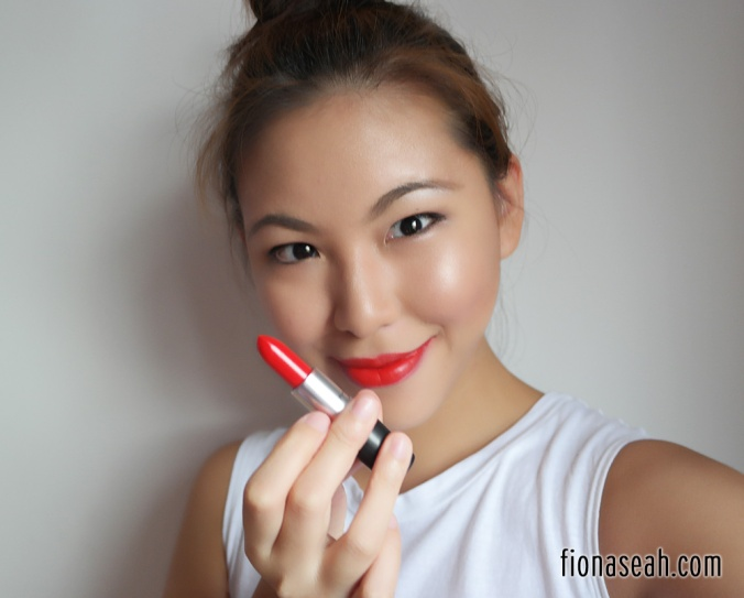 Asian red lipstick nude japanese