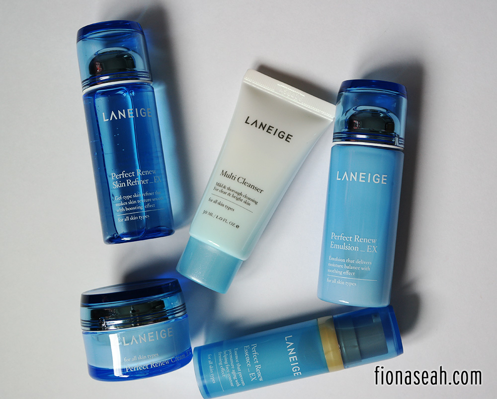 Enjoy A Fuss Free Travel With Laneige Perfect Renew Set Multi Cleanser Consists Of 1x 30ml Skin Refiner Ex 50ml Emulsion