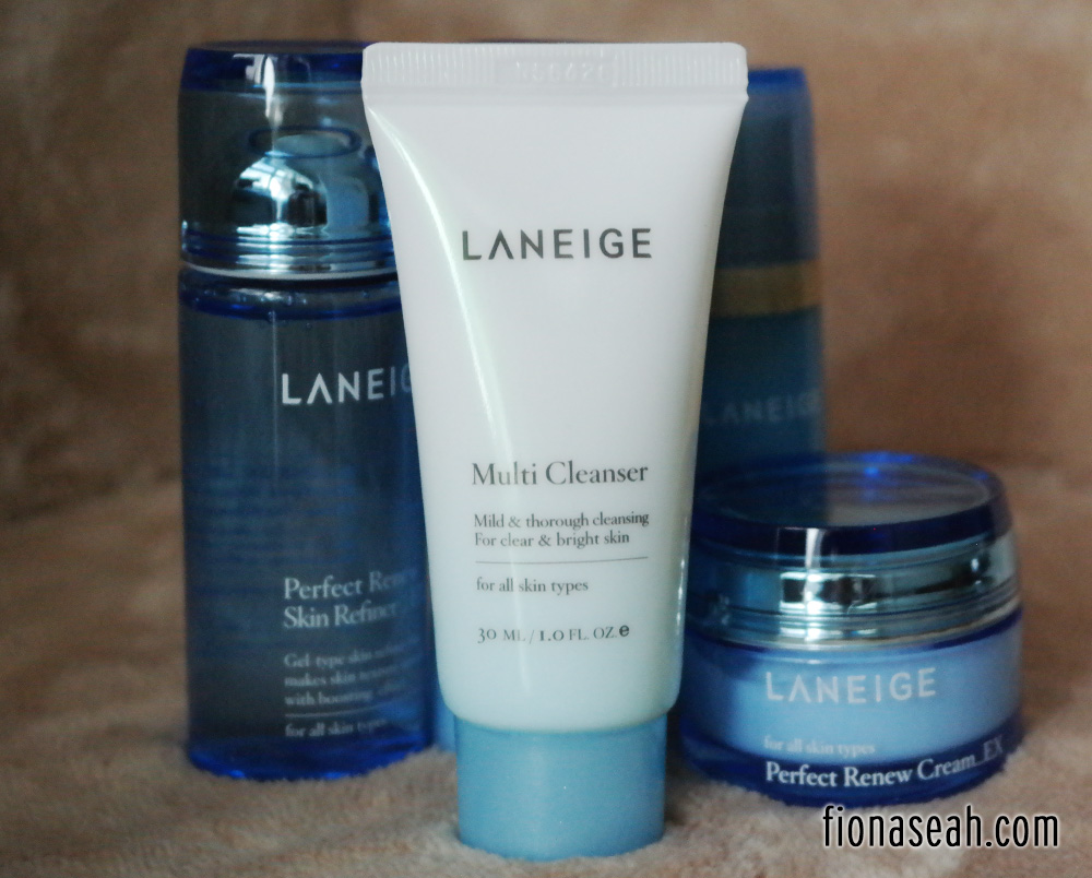 Laneige Multi Cleanser Enjoy A Fuss Free Travel With Perfect Renew Set Mildly And Thoroughly Cleanses For Clear Brighter Skin