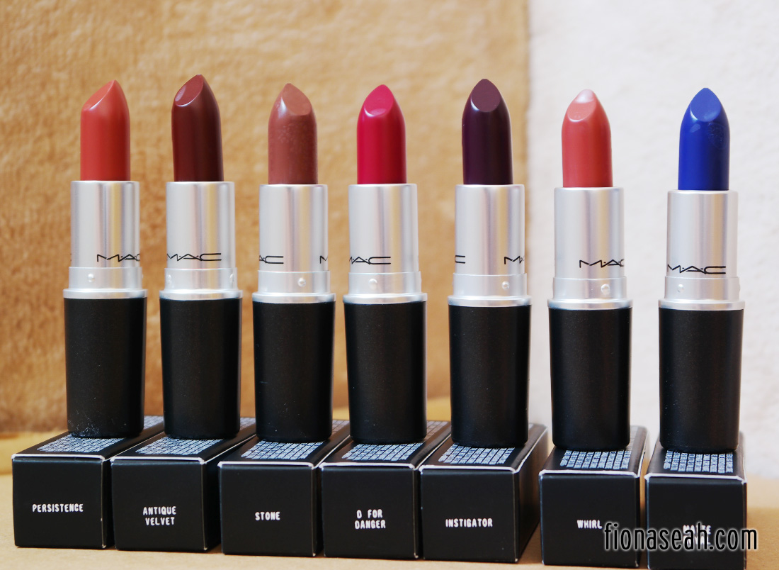 Conosciuto REVIEW: MAC The Matte Lip 2015 Lipsticks – Whirl, Persistence  SC17