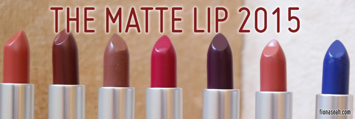 abbastanza REVIEW: MAC The Matte Lip 2015 Lipsticks – Whirl, Persistence  CW63