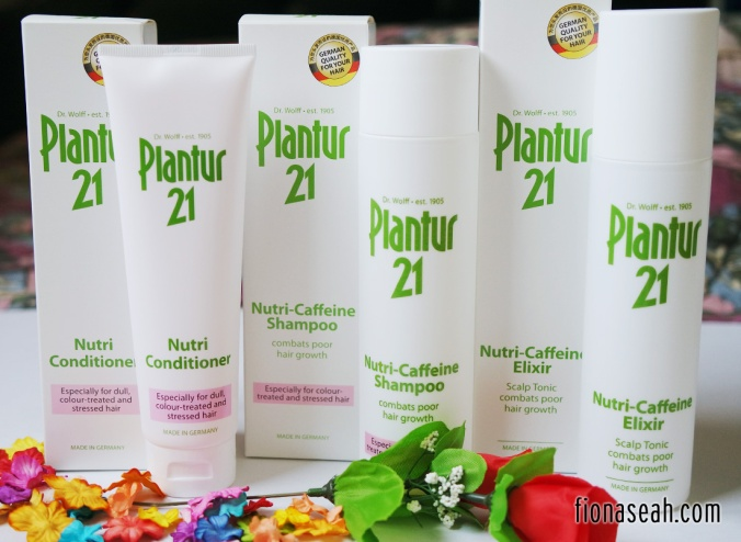 Products under Plantur21: Nutri-Caffeine Elixir, Nutri-Caffeine Shampoo & Nutri Conditioner