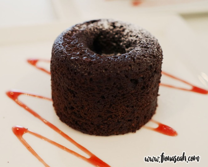 Lava Chocolate Cake (S$5.00++ or S$3.00++ as add-on)