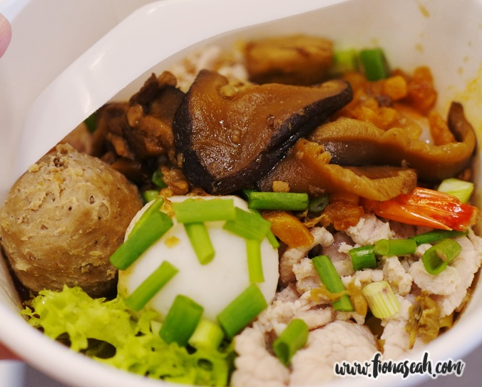 Fishball Noodles (S$4.50) at Ming Fa Fishball