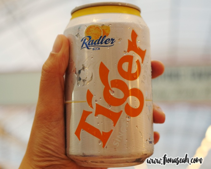 Tiger Radler beer