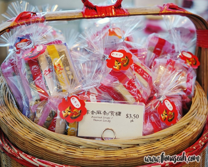Assorted Crisps/Peanut Candy (S$3.50 per packet) at Thye Moh Chan