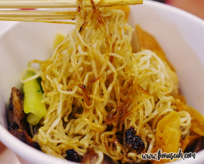 Truffle Wanton Noodle (S$8)  at Bee Kee Wanton Noodle