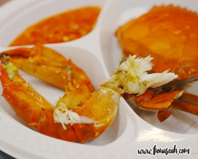 Cold Crab Teochew Style (S$12+) by Swissôtel Merchant Court