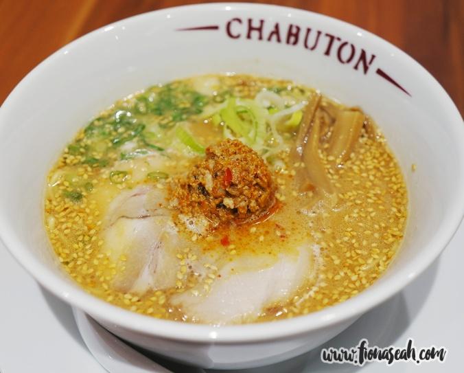 Chabuton Kara Kara Miso Ramen