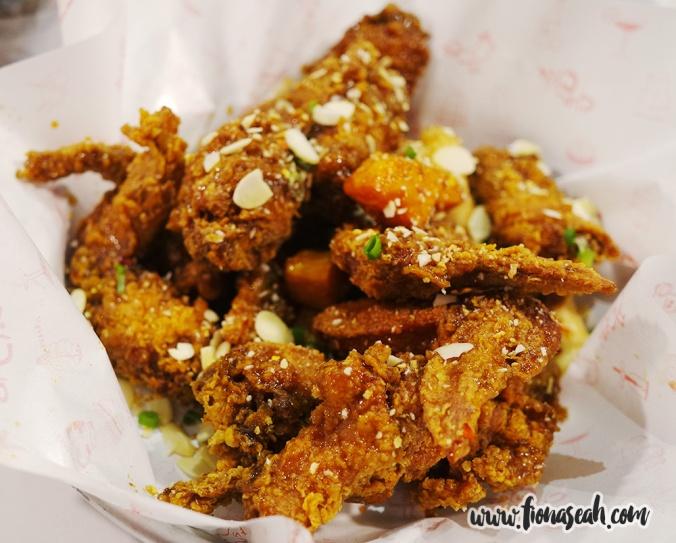 Garlicky Wings
