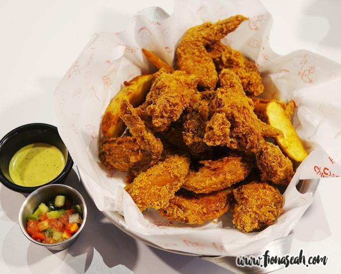 Crispy Fried Wings