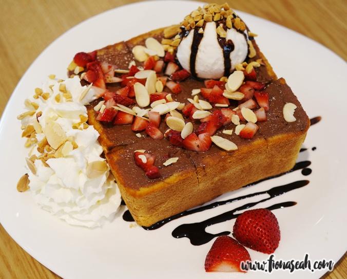Choco Strawberry Honey Butter Bread